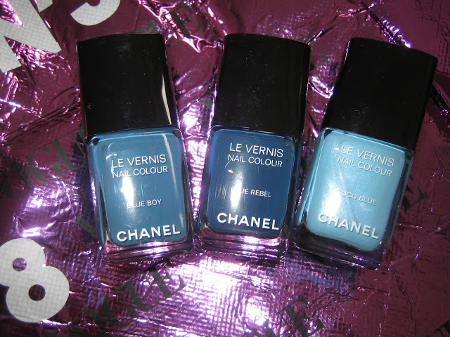 2011 les jeans de chanel BLUE BOY BLUE REBEL COCO BLUE