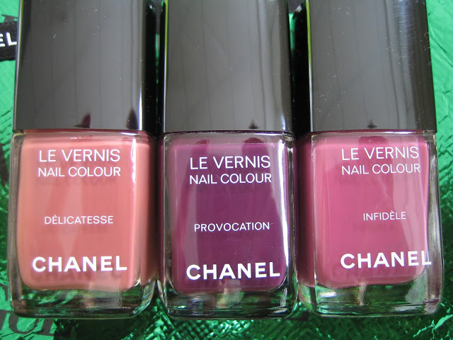 2012 les twin sets de chanel vernis lipstick collection