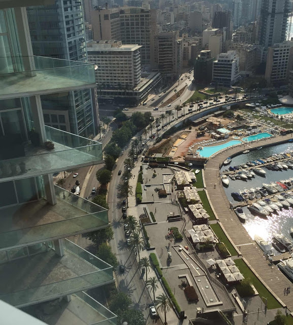 marina beirut libanon uefuffzich on tour blick vom four seasons hotel