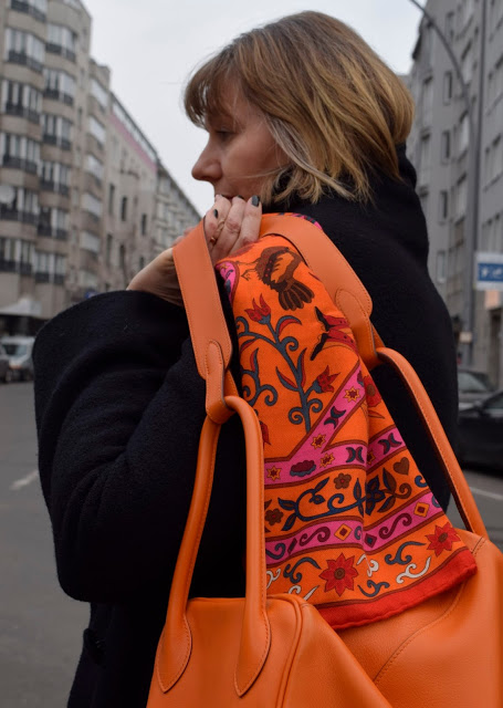 hermes 140er kaschmir seide peuple du vent swift lindy orange