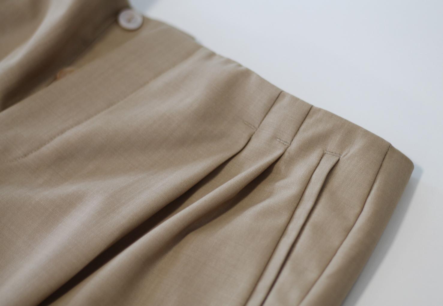 Gaultier Bundfaltenhose