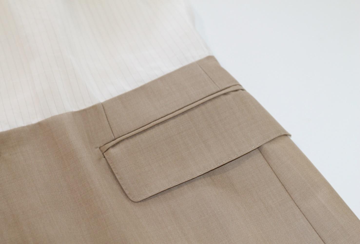 Westerland Sylt Waschsalon Jean-Paul Gaultier Anzug